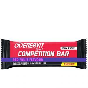 COMPETITION BAR RED FRUITS SENZA GLUTINE ENERVIT SPORT - Barretta Energetica da 30 Grammi con Vitamina B1 e B2