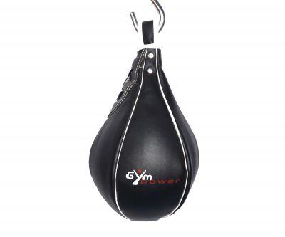 PERETTA VELOCE NERA 22x15 cm - Colpitore Professionale in Pelle ideale per allenare la velocità dei colpi