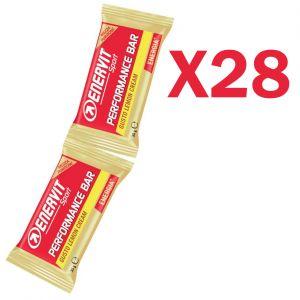 Enervit Performance Bar Double gusto lemon cream, 28 barrette con 2 porzioni da 30 grammi