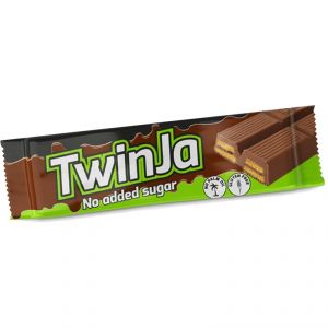 TWINJA DAILY LIFE 21,5 GRAMMI - Snack di wafer ricoperti al cioccolato con il 15% di proteine - SCADENZA 01/09/2020