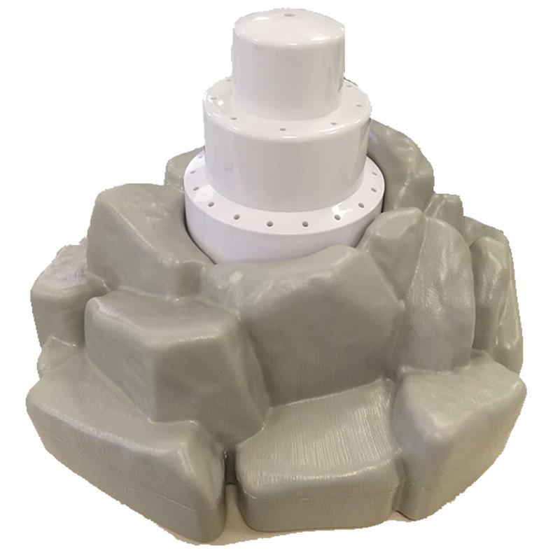 Fontana Galleggiante Modello ROCCIA - Fontana Decorativa per Piscina Diametro 30 cm