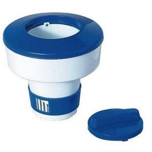 DISPENSER DELUXE 20,5 CM - Dosatore Galleggiante Grande Standard per Pastiglie di Cloro Piscina