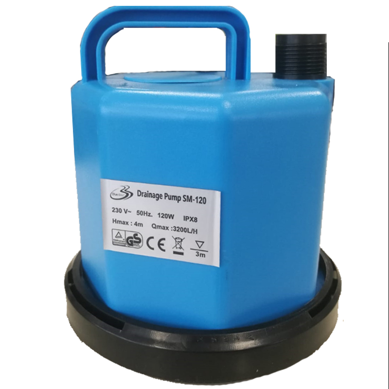 DRAINAGE PUMP PLUS BLUE BAY 120 W 3200 L/H - Pompa per lo svuotamento delle coperture invernali della piscina