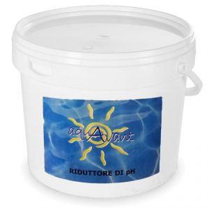Riduttore di pH Aquavant Secchio 16 kg - Prodotto PH- in polvere per piscine ideale per la correzione riduzione del pH