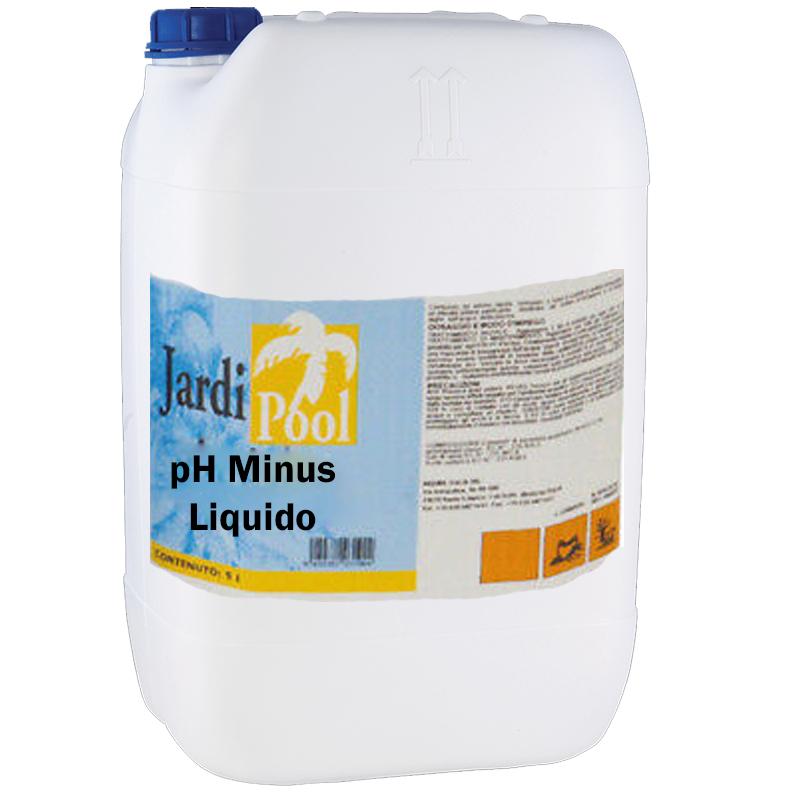 PH- MINUS LIQUIDO JARDI POOL Tanica 25 kg - Composto Acido per diminuire il pH in piscina *VENDITA PROIBITA AI PRIVATI