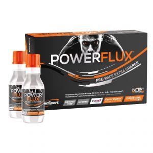 POWERFLUX PRE-RACE EXTRA-CHARGE ETHICSPORT Scatola 5 Flaconi da 85 ml - Energetico Pre-Gara di Nuova Generazione