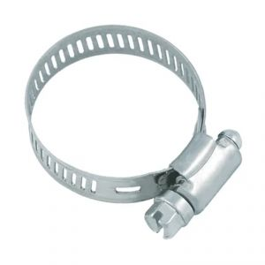 FASCETTA STRINGITUBO METALLICA 30-50 mm - Morsetto in acciaio ideale per stringere i tubi sezionabili piscina