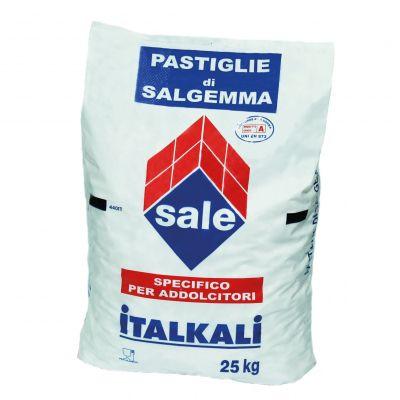 SALE IN PASTIGLIONI PER PISCINA Sacco da 25 kg - Sale di qualità superiore ideale per Piscine o Trattamenti Industriali