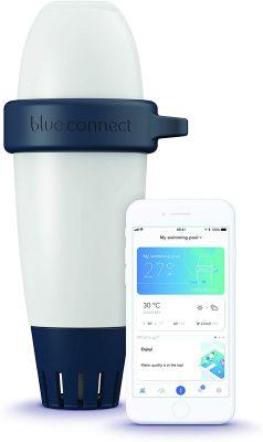 """Blueriiot Blue Connect Go """"Versione Platino"""" - Analizzatore Smart Piscina per analisi ph, temperatura e potenziale Redox"""