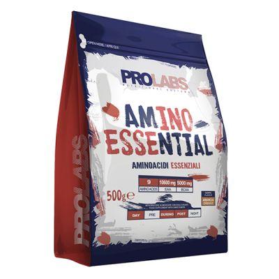 AMINO ESSENTIAL PROLABS - gusto ARANCIA - 500 gr aminoacidi essenziali con edulcoranti in polvere
