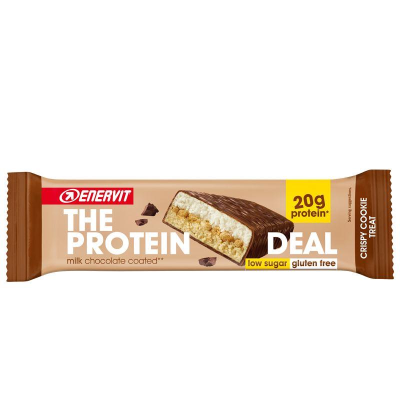 ENERVIT The Protein Deal Bar gusto Crispy Cookie 55g Barretta Proteica