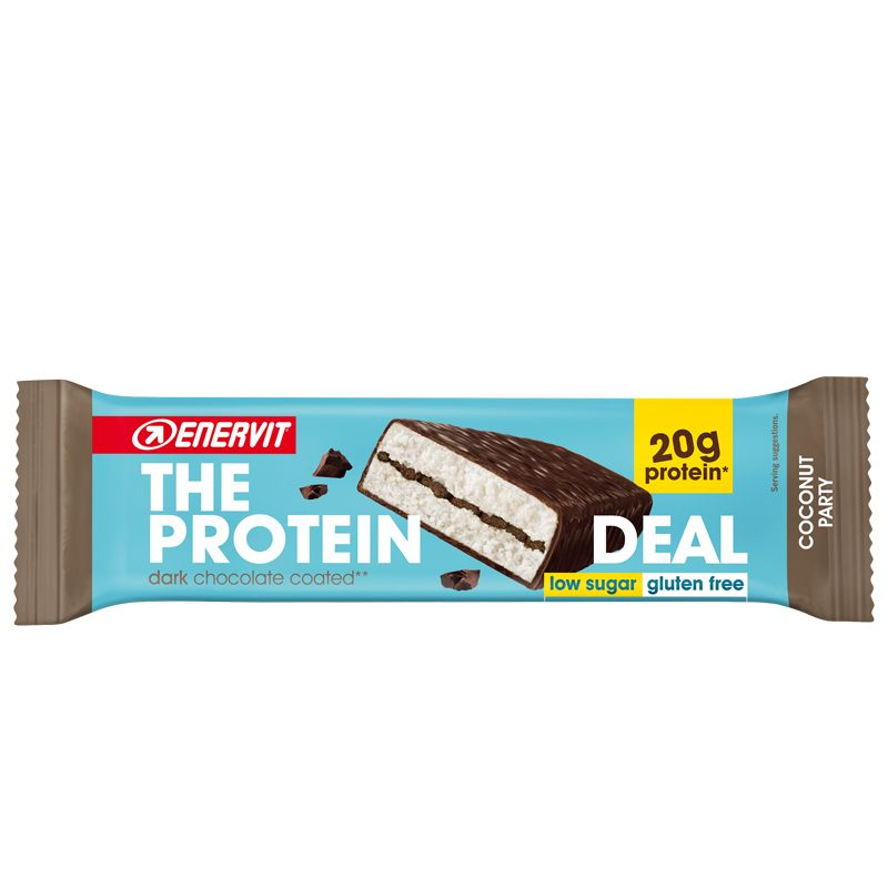 ENERVIT The Protein Deal Bar gusto Coconut 55g Barretta Proteica