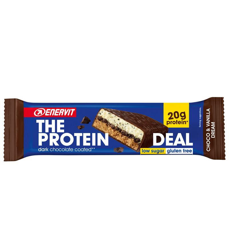 ENERVIT The Protein Deal Bar gusto Choco & Vanilla Dream 55g Barretta Proteica