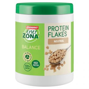 ENERZONA Balance 40-30-30 Protein Flakes gusto Naturale 224g  fiocchi di soia proteici