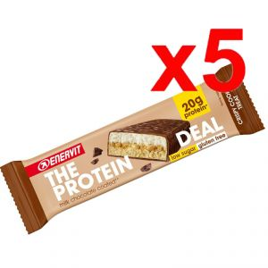 ENERVIT The Protein Deal Bar gusto Crispy Cookie 55g - 5 Barrette Proteiche