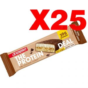 ENERVIT The Protein Deal Bar gusto Crispy Cookie 55g - 25 Barrette Proteiche