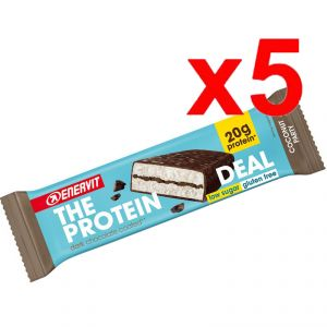 ENERVIT The Protein Deal Bar gusto Coconut 55g 5 Barrette Proteiche