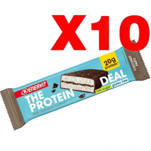 ENERVIT The Protein Deal Bar gusto Cocco 55g 10 Barrette Proteiche