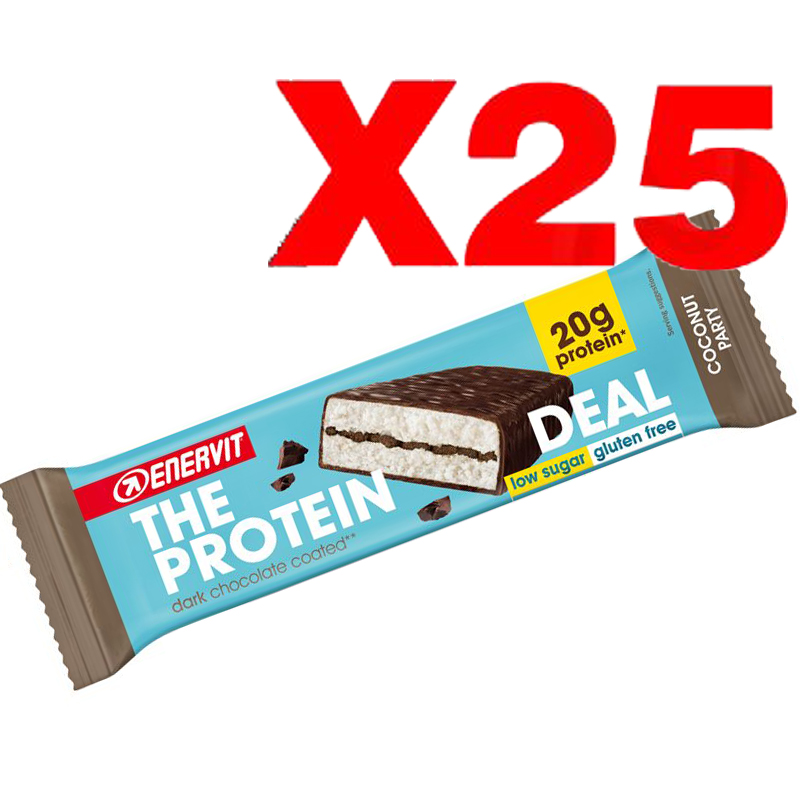 ENERVIT The Protein Deal Bar gusto Coconut 55g 25 Barrette Proteiche