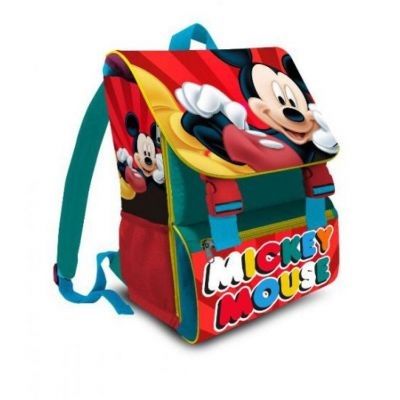 Zaino Scuola Estensibile Disney Topolino 2019 (Mickey Mouse) 30x40x(11+9) cm