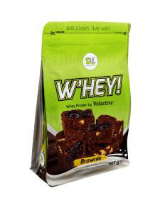 DL W'HEY! WHEY PROTEIN VOLACTIVE - gusto Brownie 907gr - Proteine in polvere Daily Life