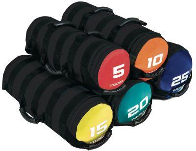 POWER BAG 20 KG Sacca Appesantita colore Verde Acqua con 6 Impugnature Ideale per Crossfit e Functional Training