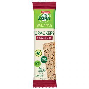 Enerzona Cracker Balance 40-30-30 Sesame & Chia Monodose - Fibre e Proteine