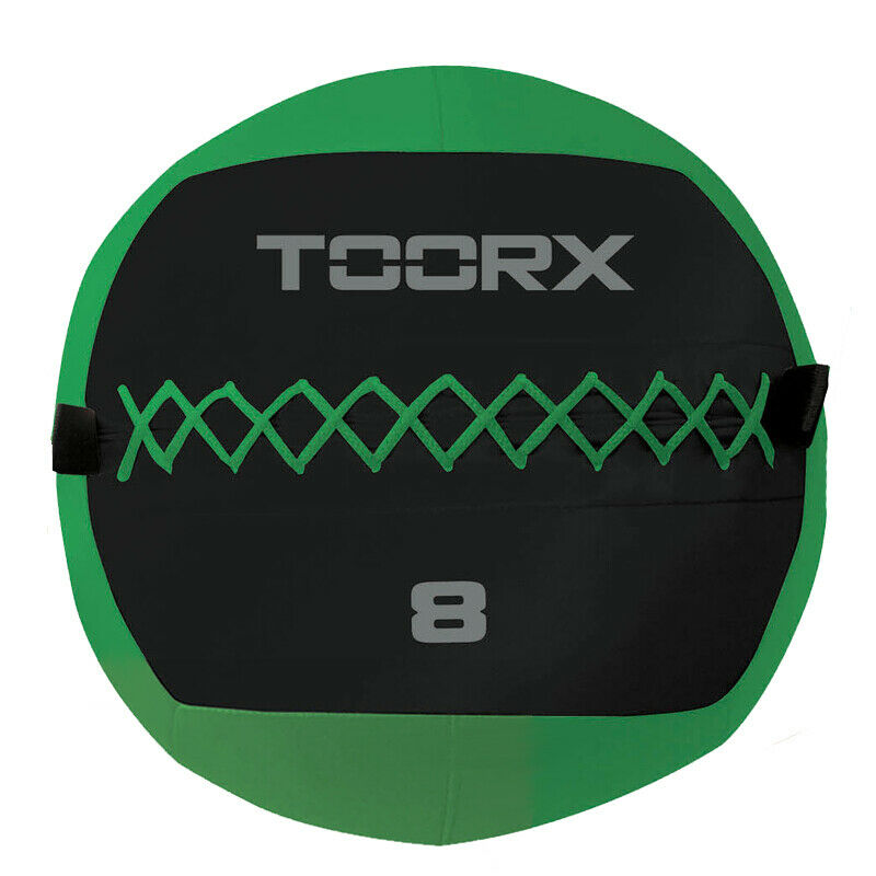 WALL BALL Palla Professionale 8 kg Verde Diametro 35 cm per allenamenti Crossfit ed Allenamenti Funzionali