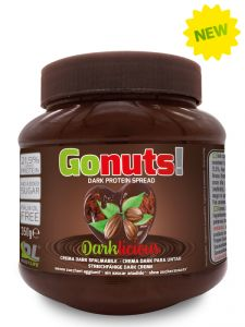 GONUTS DAILY LIFE Barattolo 350g - Crema Spalmabile al cioccolato fondente con il  21,9 % di Proteine