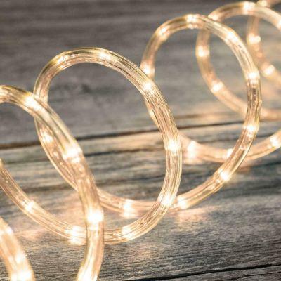 216 LED PLASTIC NEON 9 MT BIANCO CALDO - Tubo Luminoso Ø11 mm per Interno ed Esterno