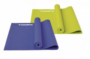 Toorx Materassino Viola Specifico per Yoga con Superficie Antiscivolo - Dimensioni 173x60 cm Spessore 0,4 cm