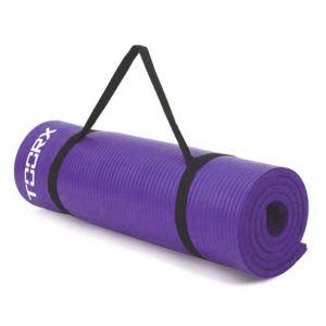 Materassino Fitness Con Maniglia Di Trasporto - Dimensioni 172x61x1,2 cm - Colore Viola - Superficie antiscivolo
