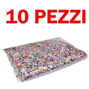 Pacchetto Risparmio - 10 Sacchetti di Coriandoli Carnival Toys da 100 Grammi