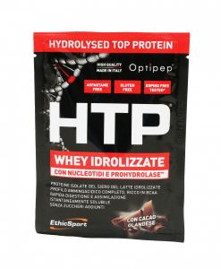Ethicsport Protein HTP Hydrolysed Top Protein Cacao Box 12 Buste 12x30g Proteine siero del latte isolate idrolizzate