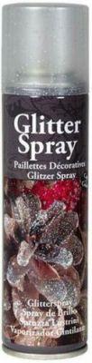 GLITTER ARGENTO SPRAY 100 ML - Bomboletta Spray per decorazioni bricolage feste