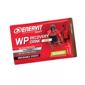 Enervit WP Recovery Drink After, busta da 50 grammi gusto Cacao, ideale per il recupero muscolare