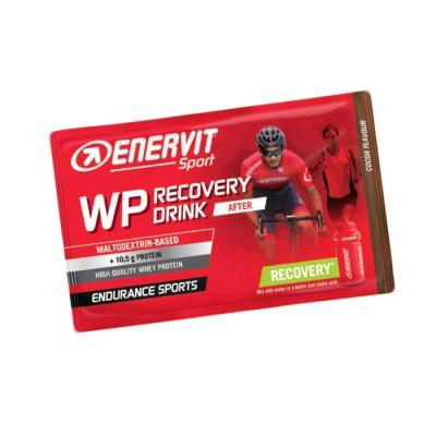 Enervit WP Recovery Drink After, busta da 50 grammi gusto Cacao, ideale per il recupero muscolare