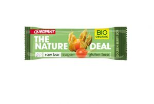 ENERVIT THE NATURE DEAL Gusto Golden Berry joy 30g - Raw Bar datteri e bacche di alchechengi - Vegan Gluten Free