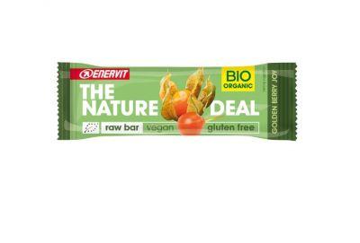 ENERVIT 10 BARRETTE THE NATURE DEAL Gusto Golden Berry joy 10x30g - Raw Bar datteri e bacche di alchechengi - Vegan