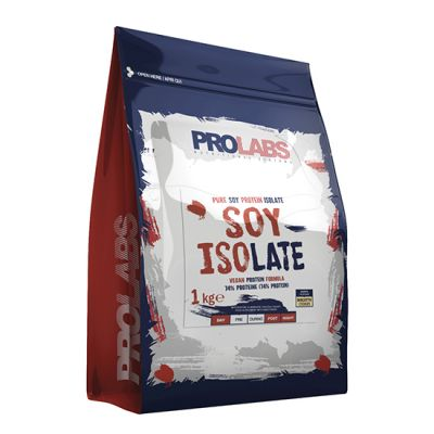 Prolabs SOY ISOLATE 1 KG Cookie - Purissime proteine isolate di Soia - Formula Vegan - Con Vitamina B12 e B6