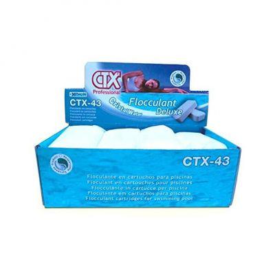 CTX-43 FLOCCULANT DELUXE 1 KG Cristal Water - Set di 8 Flocculanti in Cartucce da 125 Grammi