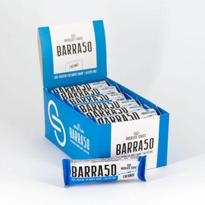 Absolute Series Daily Life Box 24 Barrette proteiche BARRA50 Cocco 24x50 gr - 40% di Proteine - Gluten Free