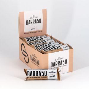 Absolute Series Daily Life Box 24 Barrette proteiche BARRA50 Nocciola 24x50 gr - 40% di Proteine - Gluten Free