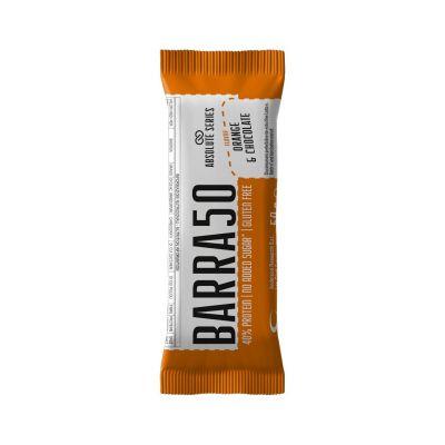 Absolute Series Daily Life Barretta proteica BARRA50 Cioccolato Arancia 50 gr - 40% di Proteine - Gluten Free