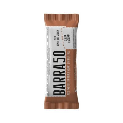 Absolute Series Daily Life Barretta proteica BARRA50 Caramello Salato 50 gr - 40% di Proteine - Gluten Free