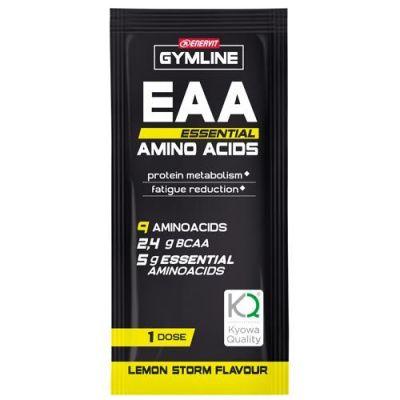 Gymline EAA Essential Amino Acids 10 Buste da 10 g - Amminoacidi essenziali e vitamine Adatto ai vegetariani