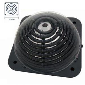 COLLETTORE SOLARE DOME 2000 - Pannello Gigante 77,5x77,5 cm ideale per riscaldare piscine fino a 7000 Litri
