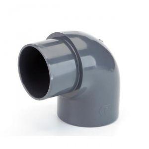 GOMITO RIGIDO 90° M/F AD INCOLLAGGIO DIAMETRO 50 MM - Curva ideale anche per impianti piscina