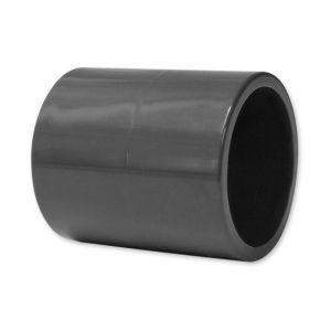 MANICOTTO RIGIDO Ø50 MM A INCOLLARE - Realizzato in PVC di elevata qualità