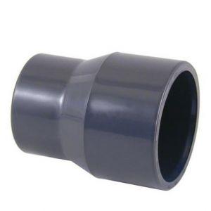 RIDUZIONE CONICA IN PVC Ø 75/63 X 50 - Raccorderia per piscina di Top Quality
